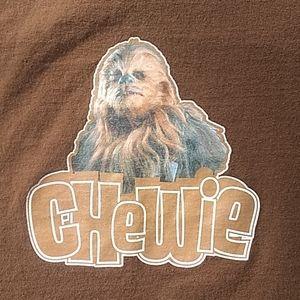 Star Wars Chewy Chewbacca tshirt